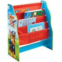 Product photograph showing Paw Patrol Sling Bookcase By Hellohome