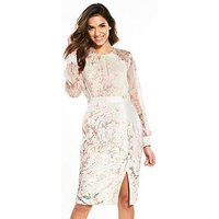 Phase Eight Nissa Dress - Buttermilk, Buttermilk, Size 14, Women