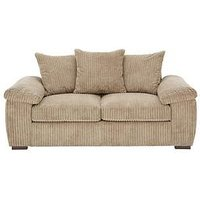 Product photograph showing Amalfi 2 Seater Scatter Back Fabric Sofa