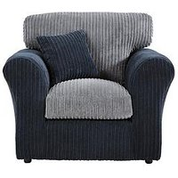 Plaza Compact Fabric Armchair
