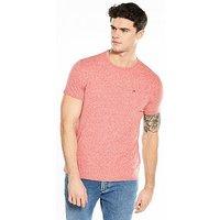 Tommy Jeans Triblend T-shirt, Formula Red, Size S, Men