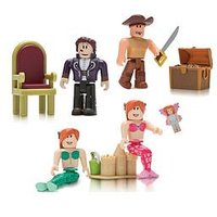 Roblox Roblox Celebrity- Neverland Lagoon 4 Figure Pack