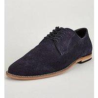 KG Tipton Suede Shoe, Navy, Size 7, Men