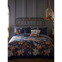 Product photograph showing Oasis Home Botanical 180 Thread Count Cotton Duvet Cover Set
