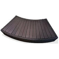 Canadian Spa Canadian Spa Rattan Curved Step For Roudn Spa