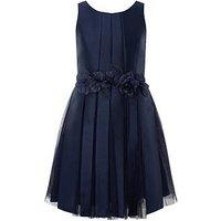 Monsoon Storm Harmony Prom Dress, Navy, Size 9 Years, Women