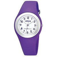 Lorus Purple Silicone Strap Kids Watch