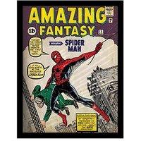 Spiderman Spiderman 'Issue 1' Framed 30X40cm Framed Print, Multi, Women