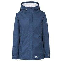 Trespass Edna Waterproof Jacket - Navy, Navy, Size M, Women