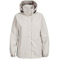 Trespass Charge Waterproof Jacket - Almond, Almond, Size M, Women