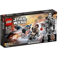 Lego Star Wars 75195 Ski Speeder Vs. First Order Walker Microfighters