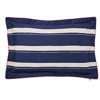 Joules Galley Grade 180 Thread Count 100% Cotton Percale Oxford Pillowcase