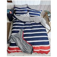 Joules Galley Grade 180 Thread Count 100% Cotton Bedspread Throw