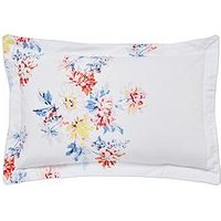 Joules Harbour Floral Stripe 180 Thread Count 100% Cotton Percale Oxford Pillowcase