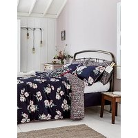 Joules Painted Poppy 180 Thread Count 100% Cotton Percale Duvet Cover