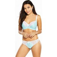 Pour Moi Madison Underwired Bra, Spearmint, Size 38D, Women