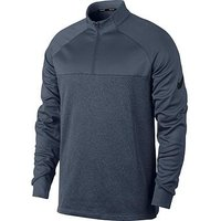 Nike Golf 1/2 Zip Therma Long Sleeve Top, Blue, Size L, Men