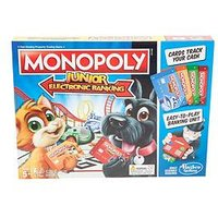 Hasbro Monopoly Junior Electronic Banking From Hasbro Gaming