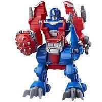 Transformers Playskool Heroes Transformers Rescue Bots Knight Watch Optimus Prime