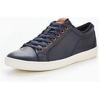 Aldo Sigrun Casual Lace Up, Navy, Size 8, Men