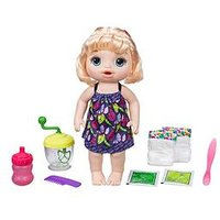 Baby Alive Sweet Spoonfuls Baby Blonde Straight Hair, One Colour