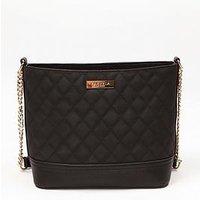 Carvela Star Quilted Shoulder Bag - Black, Black, Women