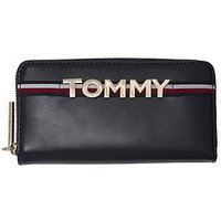Tommy Hilfiger Tommy Leather Purse - Navy, Navy, Women
