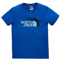 Boys, THE NORTH FACE Youth Easy Tee, Blue, Size M=10-12 Years