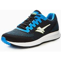 Gola Zenith 2, Black/Blue, Size 10, Men