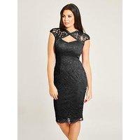 Jessica Wright Jessica Wright Rylee Sleeveless Lace Midi Dress