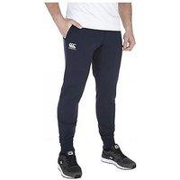 Canterbury Tapered Fleece Cuff Pants, Navy, Size L, Men