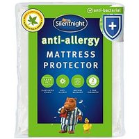 Product photograph showing Silentnight Anti Allergy Anti Bacterial Mattress Protector