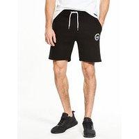 Hype Crest Jog Short, Black, Size Xs, Men