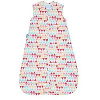 Gro Grobag - Rouge Zig Zag Travel 2.5tog 0-6m, One Colour, Size Age(Months): 6-18