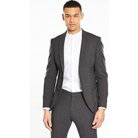 Selected Homme Mylobill Wool Blend Suit Jacket - Grey , Grey, Size 40, Men