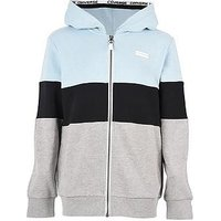 Converse Converse Boys Colorblocked Full Zip Hoodie, Light Blue, Size 12-13 Years