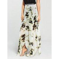 Religion Impact Floral Maxi Skirt