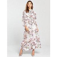 Religion Care Floral Maxi Dress, Print, Size 16, Women