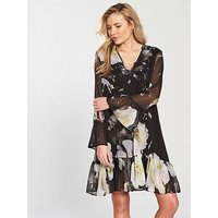 Religion Admire Floral Dress, Print, Size 8, Women