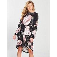 Religion Flux Key Hole Dress, Print, Size 6, Women