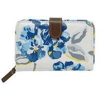 Cath Kidston Spring Bloom Zip Wallet Purse, Pink, Women
