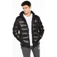 11 Degrees Strike Padded Coat, Black, Size Xs, Men
