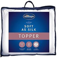 Silentnight Silentnight Luxury Soft As Silk Mattress Topper - Kb