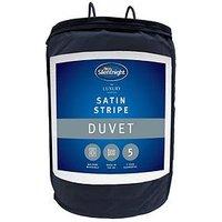 Silentnight Luxury Collection Satin Stripe 10.5 Tog Duvet