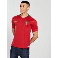 Nike Portugal 18/19 Replica Home Shirt, Red, Size L, Men