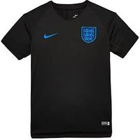 Boys, Nike Junior England Squad Training Tee, Black/Blue, Size L