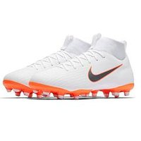 Nike Junior Mercurial Superfly 6 MG Football Boots - White , White, Size 4