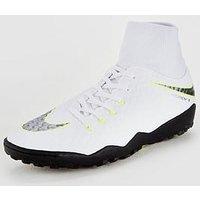 Nike Nike Mens HypervenomX Phantom 3 Dynamic Fit Astro Turf Football Boot, White, Size 9, Men