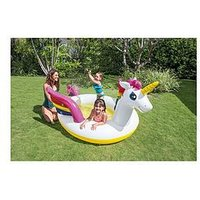 Intex Dinosaur Water Play Center Paddling Pool With Moveable Arch Spray Perfect Large