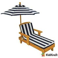 Kidkraft Kidkraft Outdoor Chaise Lounger With Umbrella
